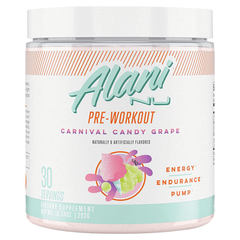 Alani Nu Pre-Workout Balanced and Perfected for Women Supplement Superstore