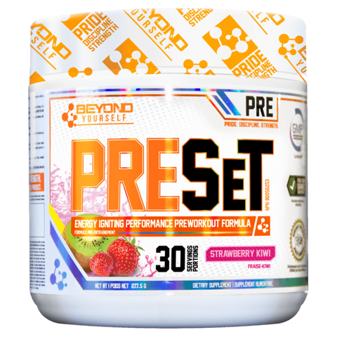 Pre Set Pre-Workout Beyond Yourself Supplement Superstore