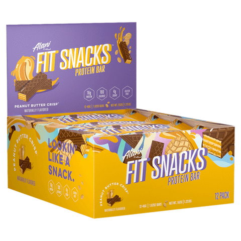 Fit Snacks Protein Bar Alani Nu Supplement Superstore