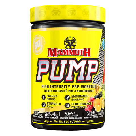 Pump Pre-Workout Energy Supplement Superstore