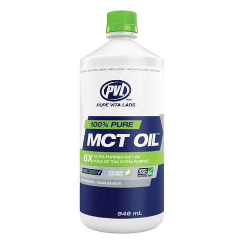 PVL Pure MCT Oil Fatty Acid Supplement Superstore
