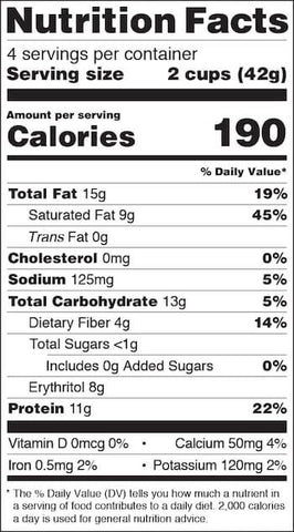 Quest Peanut Butter Cups Nutrition Facts at Supplement Superstore Canada