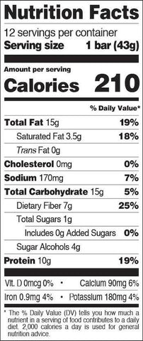 Quest Snack Bar Nutrition Facts at Supplement Superstore Canada