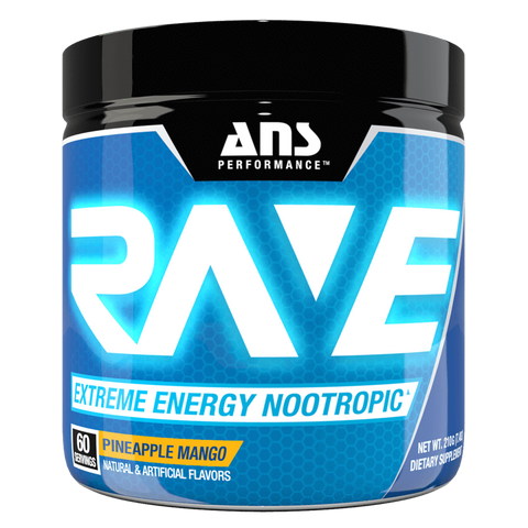 ANS Rave Pre-Workout ANS Performance Supplement Superstore