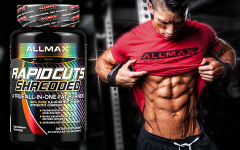 RapidCuts Shredded by Allmax Weight Loss Fat Burner at Supplement Superstore