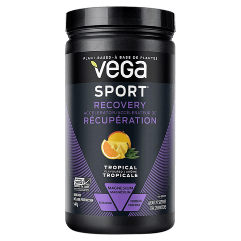 Vega Sport Recovery Accelerator Post Workout Nutrition Supplement Superstore