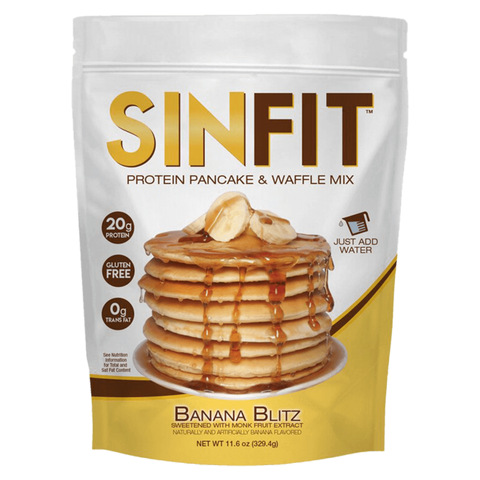 SinFit Protein Pancakes & Waffle Mix Functional Food Nutrition Supplement Superstore