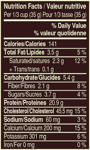 Snickers Protein Powder Nutrition Facts at Supplement Superstore Canada