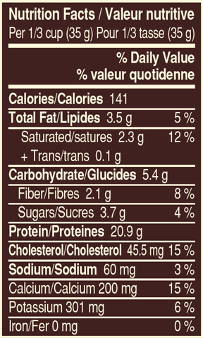 Snickers Whey Protein Powder Nutrition Facts