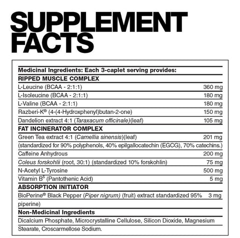 Sub Q by Fusion Bodybuilding Fat Burner at Supplement Superstore Canada