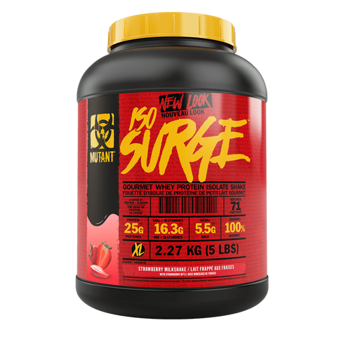 Mutant Iso surge Whey Protein Powder Isolate Supplement Superstore