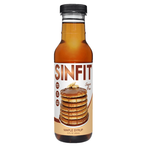 SinFit Pancake Syrup Zero Calorie Functional Food Nutrition Supplement Superstore