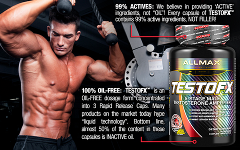 Testo FX by Allmax Hormone Support Testosterone Booster at Supplement Superstore Canada