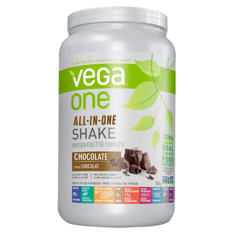Vega One All-In- One Shake Plant Based Protein Powder Vegan Supplement Superstore