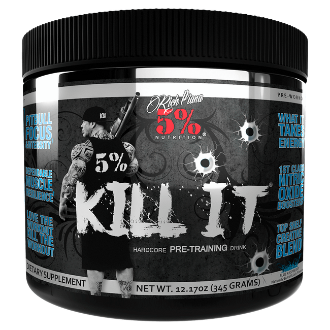5% Nutrition Kill It Pre-Workout 30 Servings / Blue Raspberry at Supplement Superstore Canada