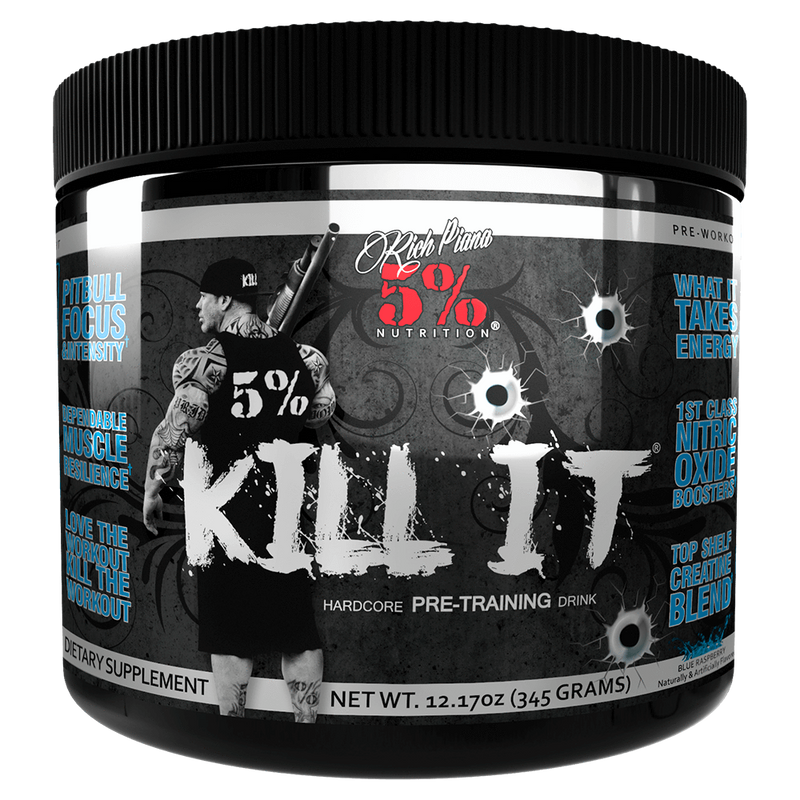5% Nutrition Kill It Pre-Workout 30 Servings / Grape Bubblegum at Supplement Superstore Canada