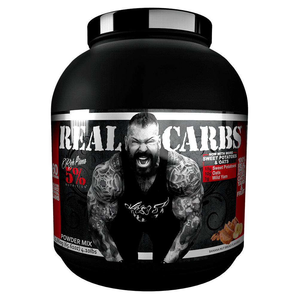 5% Nutrition Real Carbs Carbohydrate 60 Servings / Banana Nut Bread at Supplement Superstore Canada