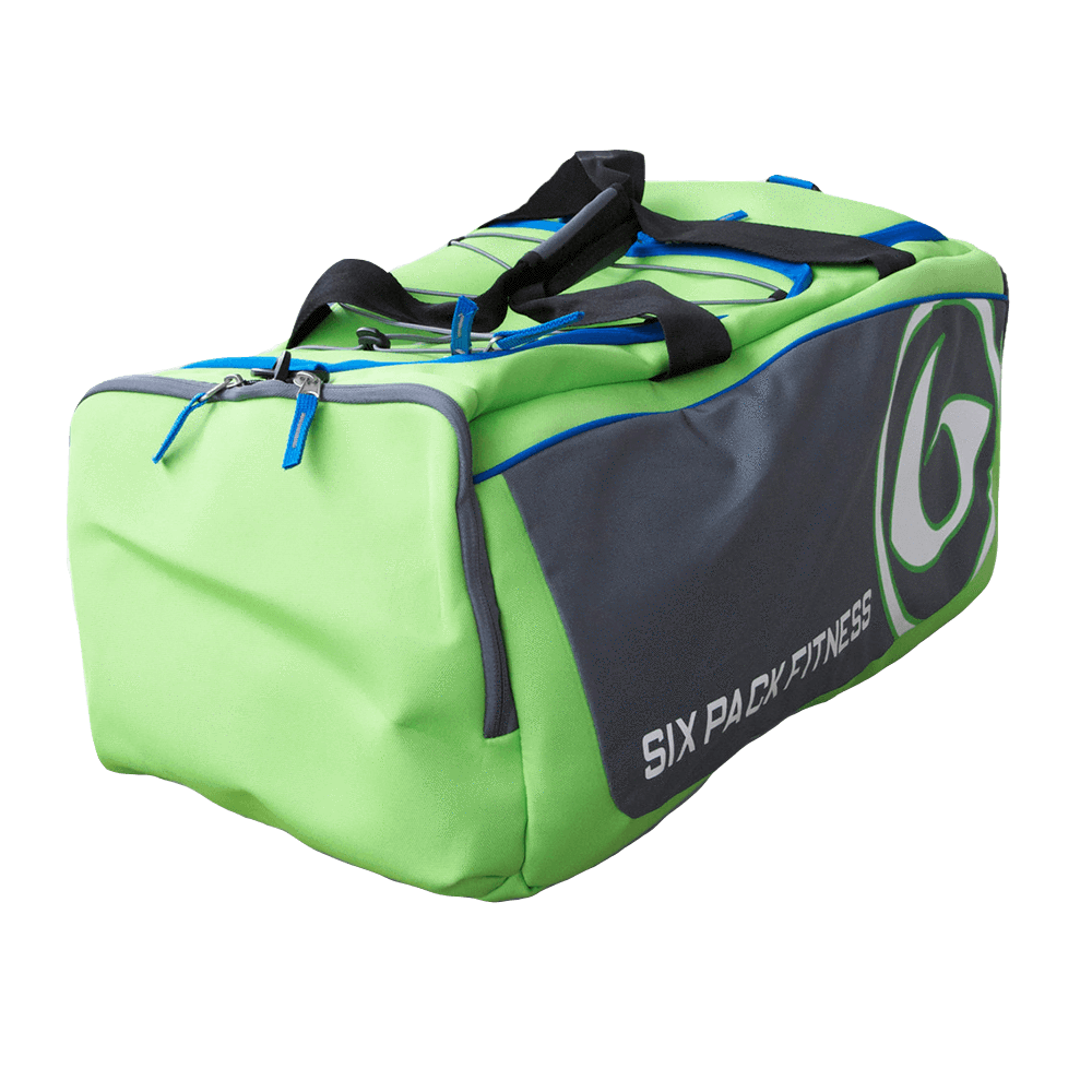 6 Pack Fitness Varsity Duffle Meal Management 3 Meal / Lime at Supplement Superstore Canada