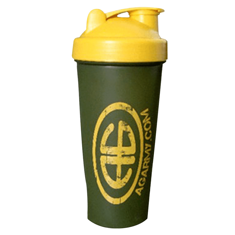 Advanced Genetics Shaker Shaker Camo/Yellow / 700ml at Supplement Superstore Canada