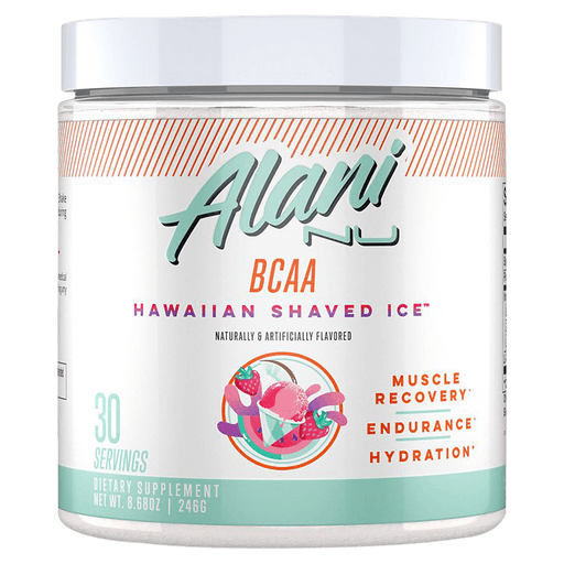 Alani Nu BCAA Amino Acid Supplements 30 Servings / Hawaiian Shaved Ice at Supplement Superstore Canada 810030510956