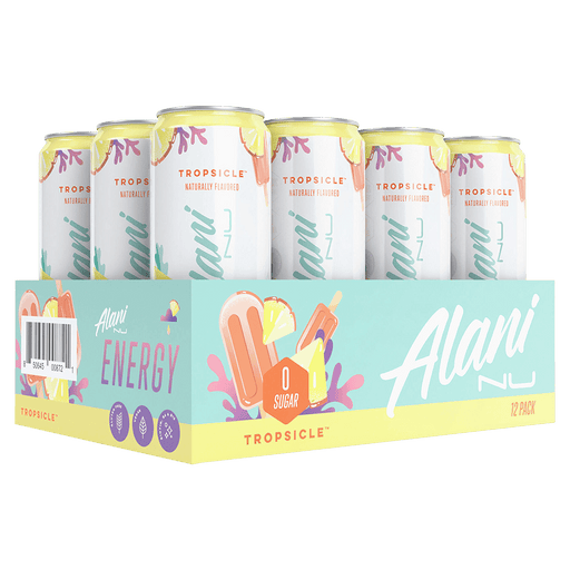 Alani Nu Energy Drinks Ready To Drink Case of 12 / Tropsicle at Supplement Superstore Canada