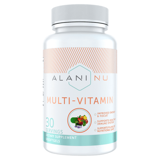 Alani Nu Multi-Vitamin Multivitamins 60 Softgels at Supplement Superstore Canada