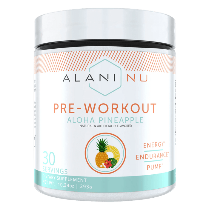 Alani Nu Pre-Workout Pre-Workout 30 Servings / Aloha Pineapple at Supplement Superstore Canada