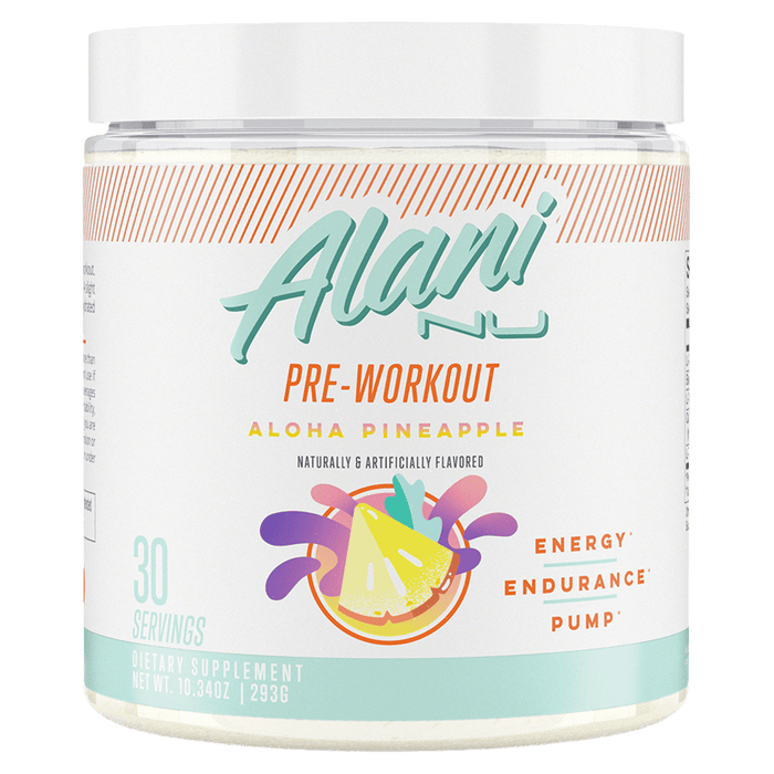 Alani Nu Pre-Workout Pre-Workout Supplements 30 Servings / Aloha Pineapple at Supplement Superstore Canada 850645008035