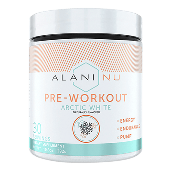 Alani Nu Pre-Workout Pre Workout 30 Servings / Arctic White at Supplement Superstore Canada