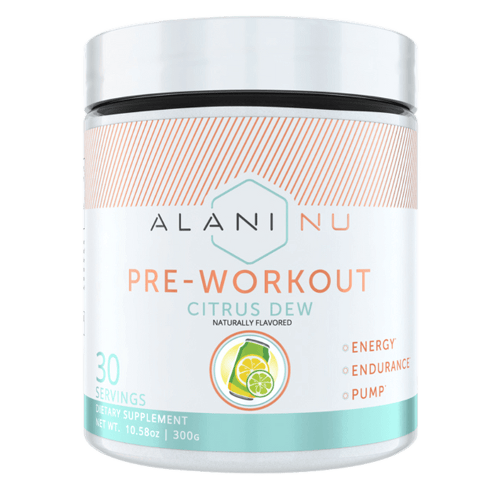 Alani Nu Pre-Workout Pre Workout 30 Servings / Citrus Dew at Supplement Superstore Canada