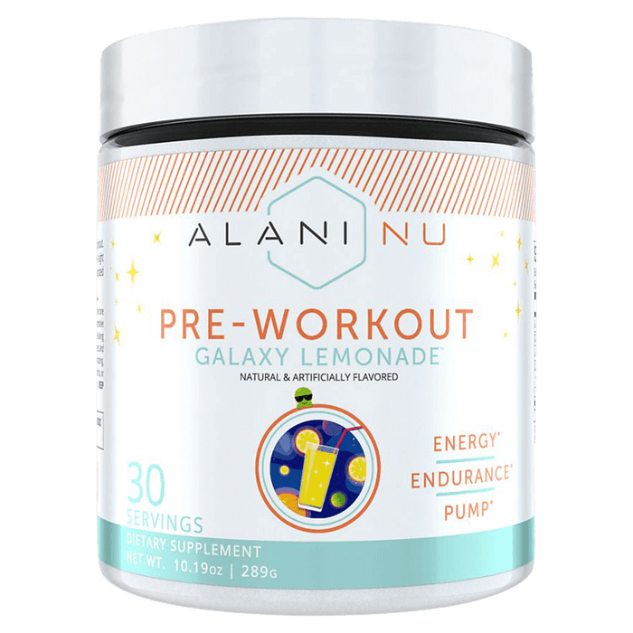 Alani Nu Pre-Workout Pre-Workout Supplements 30 Servings / Galaxy Lemonade at Supplement Superstore Canada 810030510130