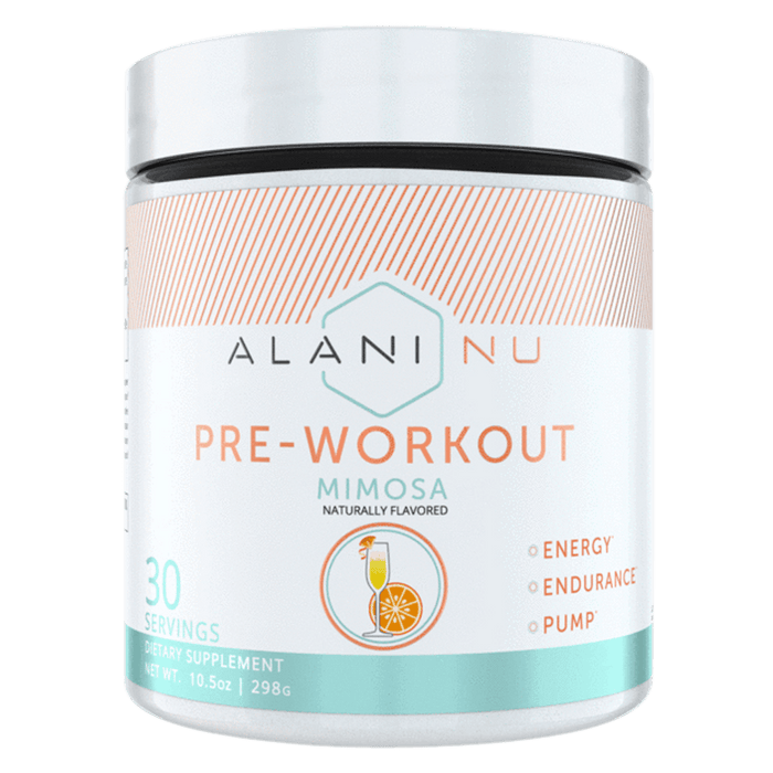 Alani Nu Pre-Workout Pre-Workout 30 Servings / Mimosa at Supplement Superstore Canada