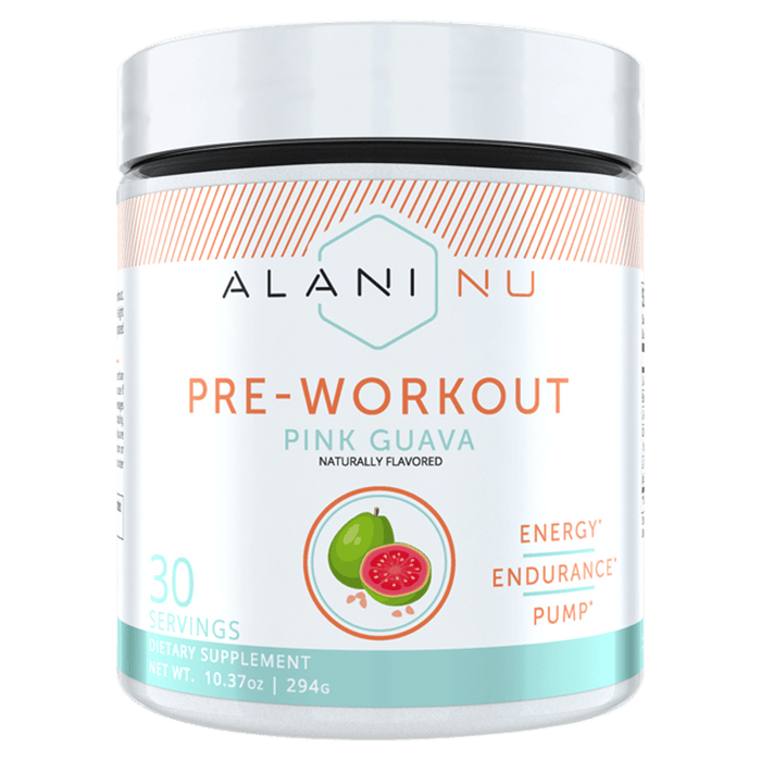 Alani Nu Pre-Workout Pre-Workout 30 Servings / Pink Guava at Supplement Superstore Canada