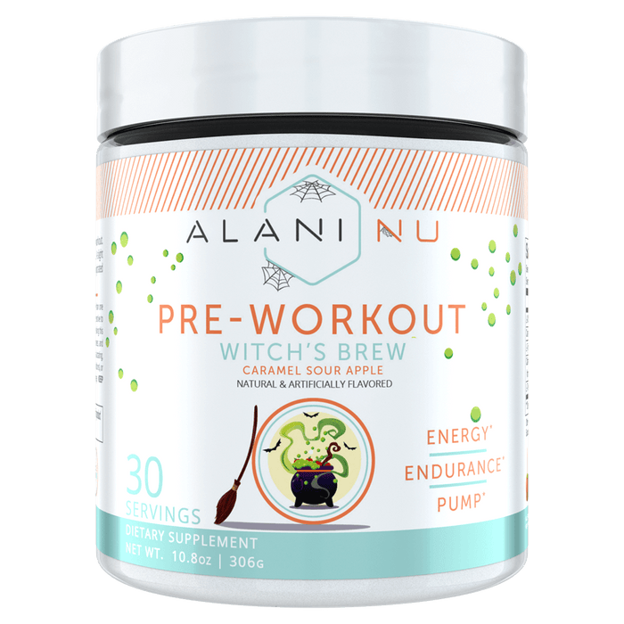 Alani Nu Pre-Workout Pre-Workout Supplements 30 Servings / Witch's Brew at Supplement Superstore Canada