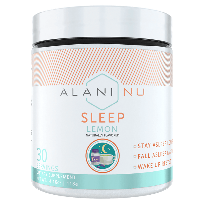 Alani Nu Sleep Test Booster 30 Servings / Lemon at Supplement Superstore Canada