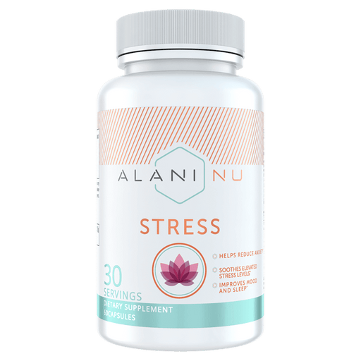 Alani Nu Stress Health Supplements 60 Capsules at Supplement Superstore Canada