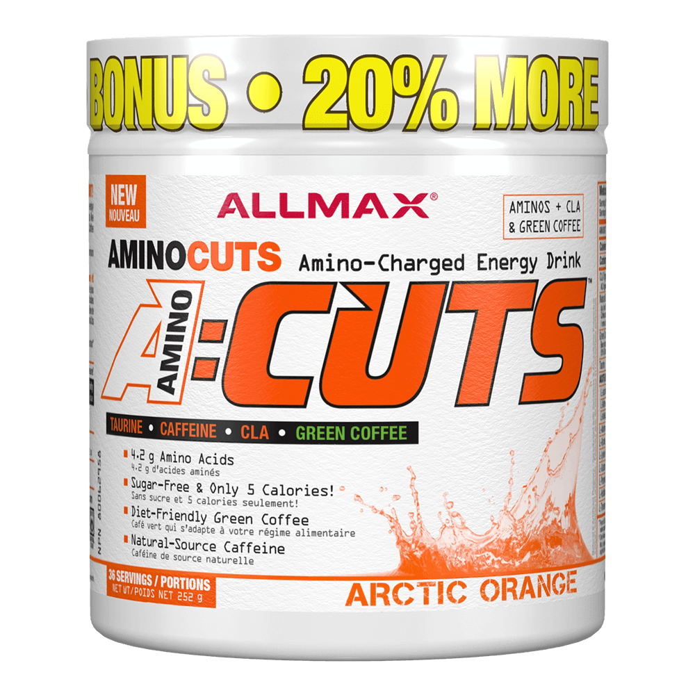 Arctic Orange A-Cuts by Allmax BCAA Energy at Supplement Superstore Canada