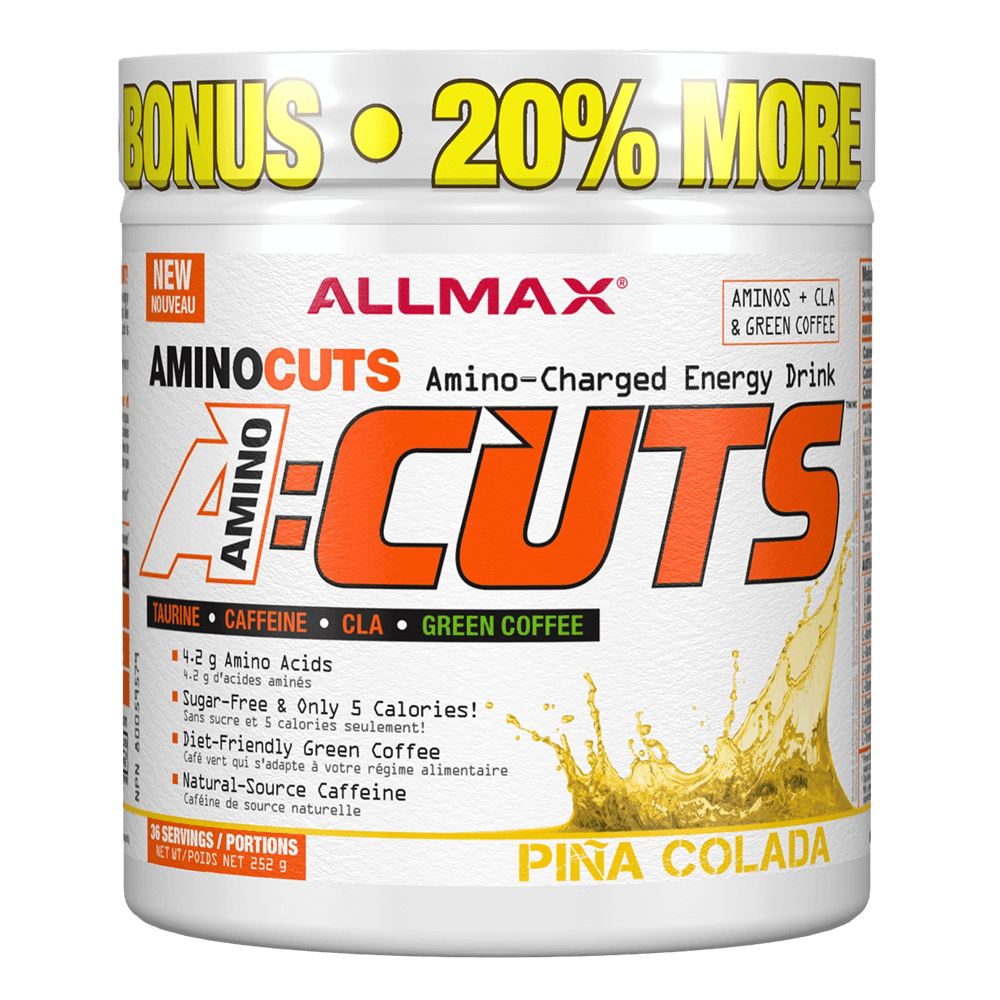 Pina Colada A-Cuts by Allmax BCAA Energy at Supplement Superstore Canada