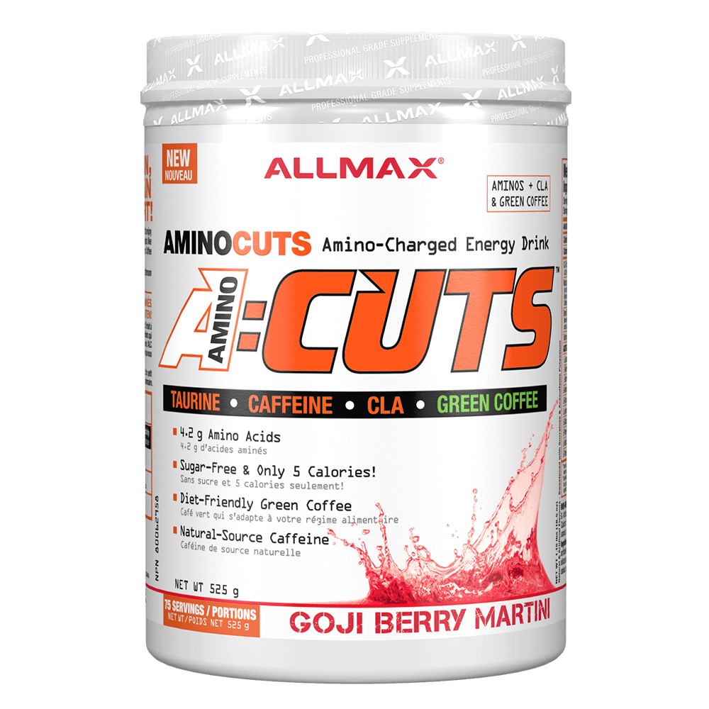 Goji Berry Martini A-Cuts by Allmax BCAA Energy at Supplement Superstore Canada