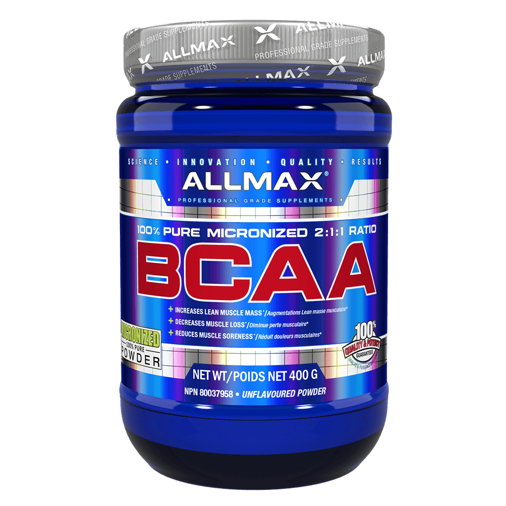 Unflavoured BCAA by Allmax Raw Ingredients at Supplement Superstore Canada