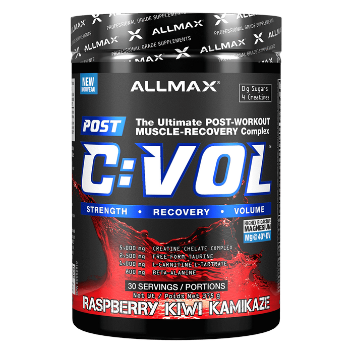Allmax C:VOL Creatine 30 Servings / Raspberry Kiwi Kamikaze at Supplement Superstore Canada