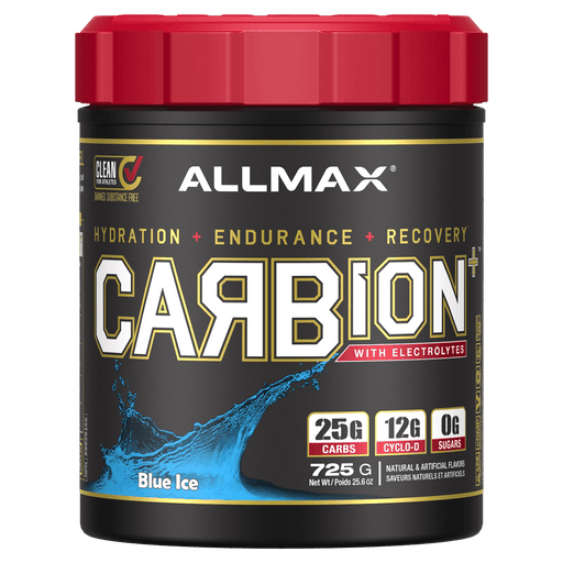 Allmax CarbION Carbohydrate Powders 25 Servings / Blue Bomb Pop at Supplement Superstore Canada 665553218472