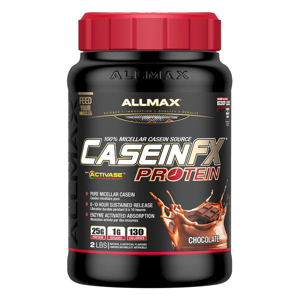 Allmax Casein FX Slow Release Protein 2lb / Chocolate at Supplement Superstore Canada