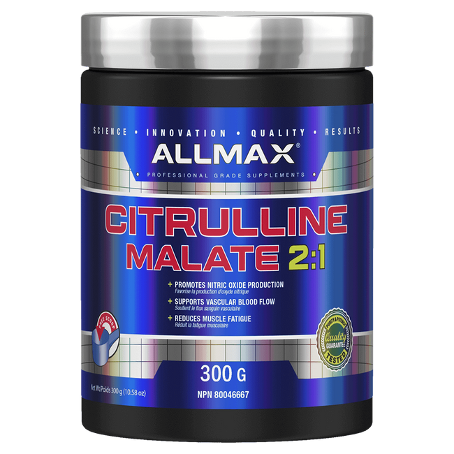 Unflavoured Allmax Citrulline Malate Pump and Vasodilator Raw Ingredients at Supplement Superstore Canada