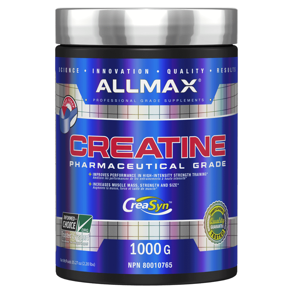 Allmax Creatine Monohydrate Creatine 1000g / Unflavoured at Supplement Superstore Canada