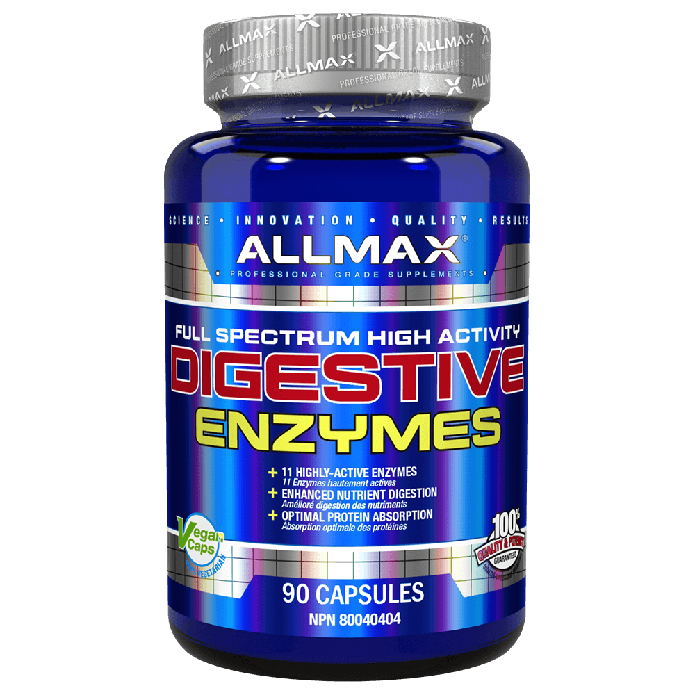 Digestive Enzymes by Allmax Digestion Support Health at Supplement Superstore Canada