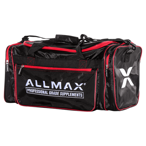 Allmax Gym Bag Gym Bag Black/Red at Supplement Superstore Canada