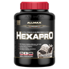 Allmax HexaPro Sustained Release Protein 5.5lb / Cookies & Cream at Supplement Superstore Canada