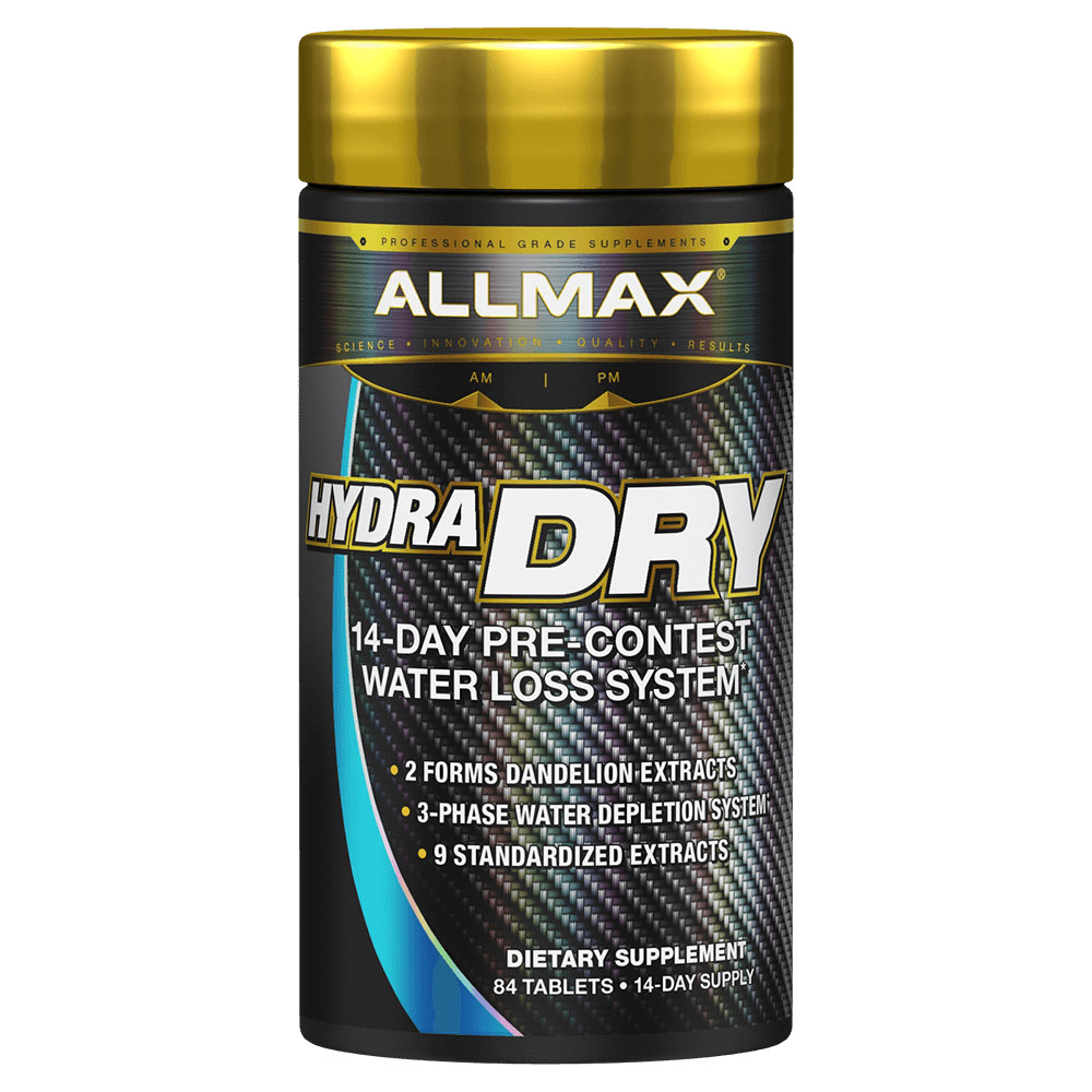 Allmax HydraDry Diuretic 84 Tablets at Supplement Superstore Canada