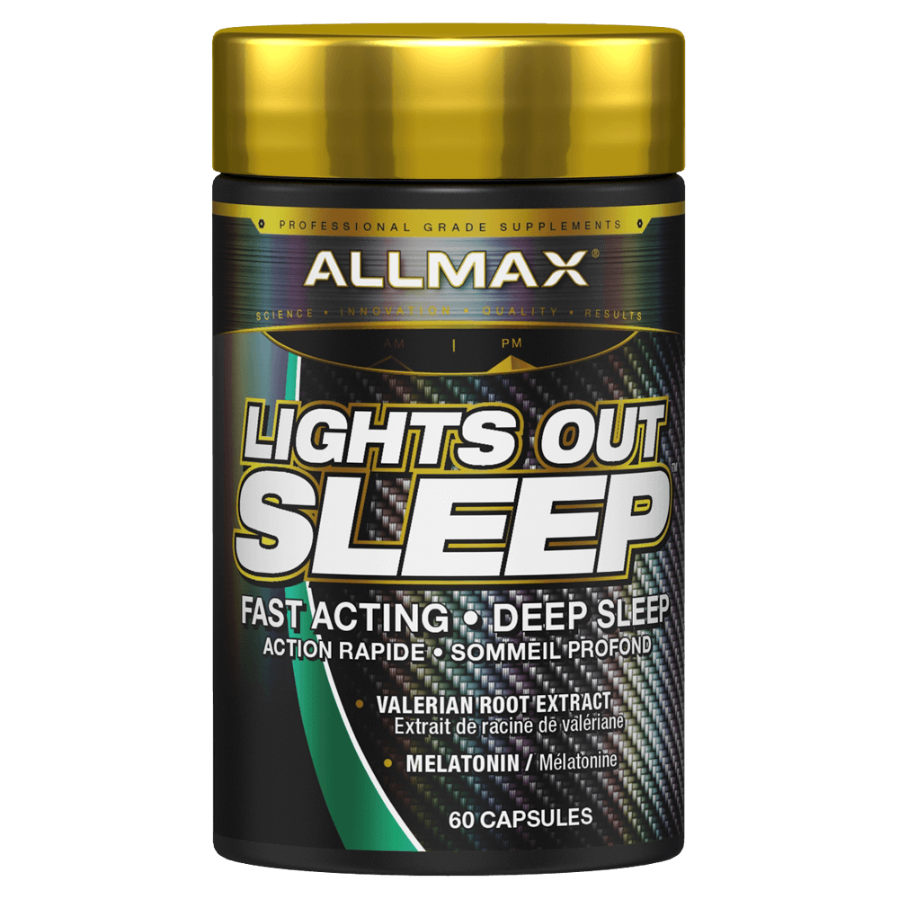 Allmax Lights Out Sleep Sleep Aid 60 Capsules at Supplement Superstore Canada